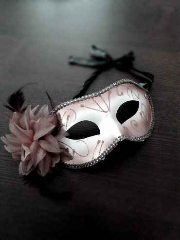 a masquerade on the table